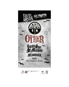 THE OTHER '31.10.21 Hell Nights Halloween' Eintrittskarte