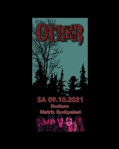 THE OTHER '09.10.2021 Bochum' Eintrittskarte