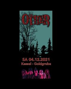 THE OTHER '04.12.2021 Kassel' Eintrittskarte