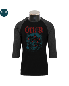 THE OTHER 'Haunted' 3/4 Contrast Shirt - limited Blue Edition