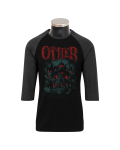THE OTHER 'Haunted' 3/4 Contrast Shirt