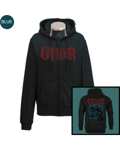 THE OTHER 'Haunted' Girlie Zipper - limited Blue Edition