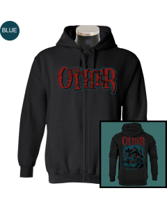 THE OTHER 'Haunted' Zipper - limited Blue Edition